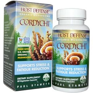 Фунги Перфекти, Cordychi, Organic Mushrooms, 60 Veggie Caps отзывы