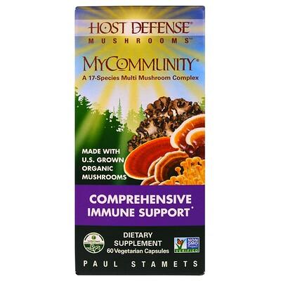 Купить Комплекс 17 видов грибов MyCommunity, 60 растительных капсул