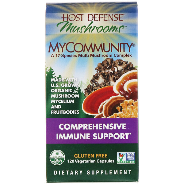MyCommunity, Comprehensive  Immune Support, 120 Vegetarian  Capsule
