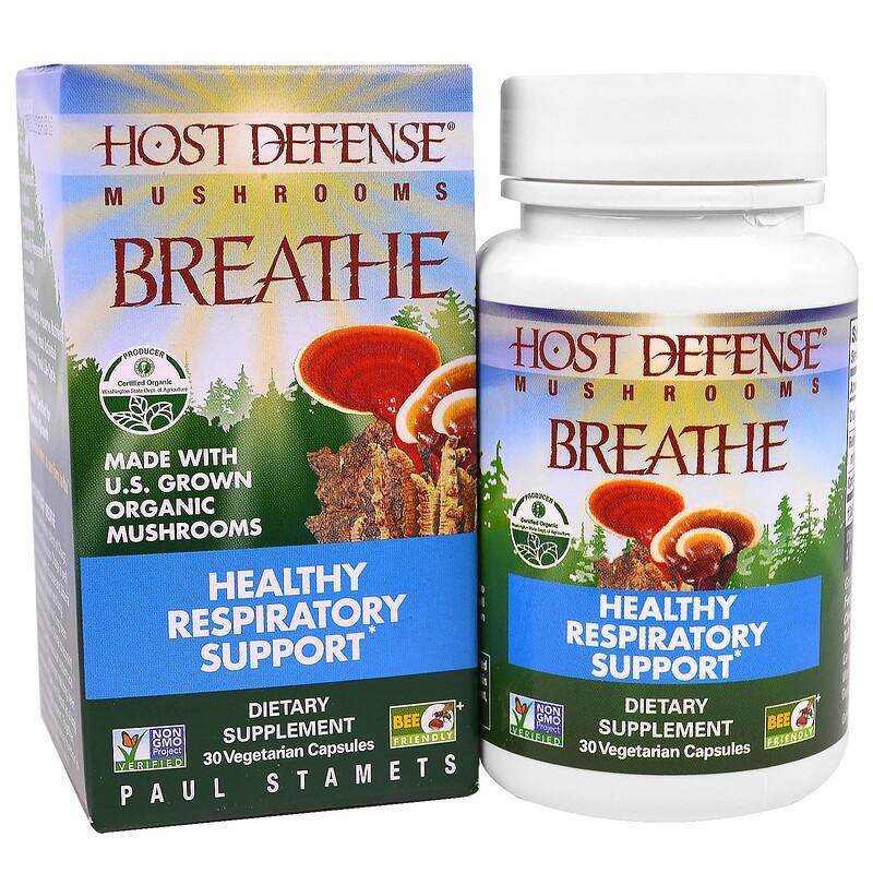Breath, Healthy Respiratory Health, 30 Veggie Capsules