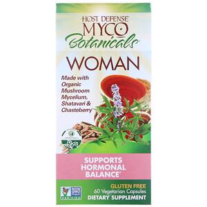Фунги Перфекти, Myco Botanicals Woman, Supports Hormonal Balance, 60 Vegetarian Capsules отзывы