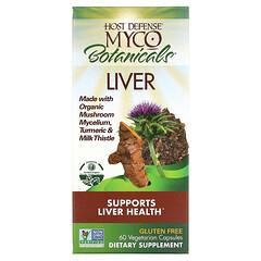 Fungi Perfecti, Myco Botanicals Liver, Supports Liver Health, 60 Vegetarian Capsules