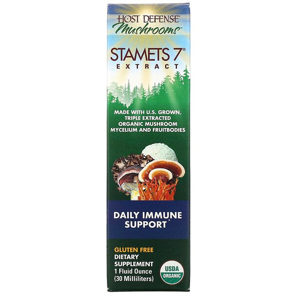 Stamets 7 Extract, Daily Immune Support, 1 fl oz (30 ml)