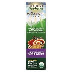 Fungi Perfecti, MyCommunity Extract, Comprehensive Immune Support , 1 fl oz (30 ml)