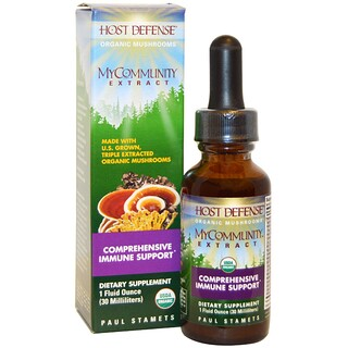 Fungi Perfecti, Host Defense, MyCommunity Extract, 1 fl oz (30 ml)