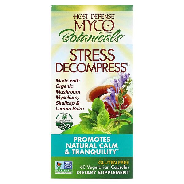 MycoBotanicals، تخفيف التوتر، 60 كبسولة نباتية