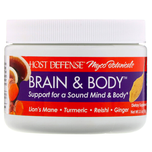 Fungi Perfecti, Myco Botanicals, Brain & Body, 3.5 oz (100 g)