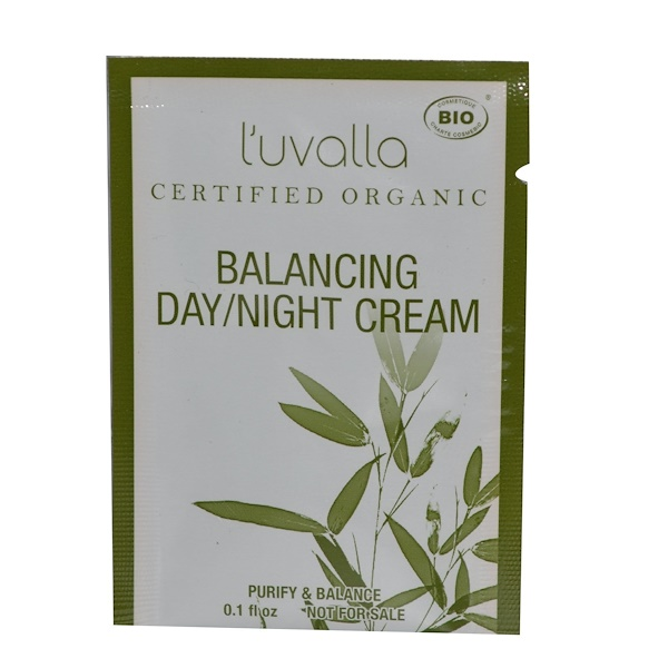Special, L'uvalla, Certified Organic Balancing Day/Night Cream, 0.1 fl oz (Discontinued Item)