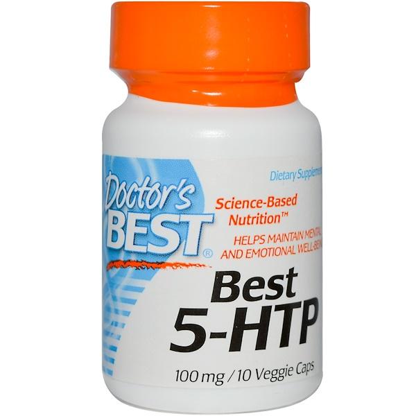 Special, Doctor's Best, Best 5-HTP, 100 mg, 10 Veggie Caps (Discontinued Item)