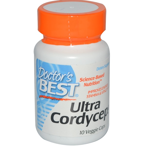 Special, Doctor's Best, Ultra Cordyceps, 10 Veggie Caps (Discontinued Item)