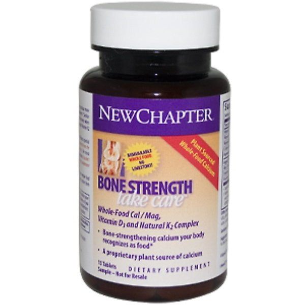 Special, New Chapter Bone Strength, Take Care, 15 Tablets (Discontinued Item)