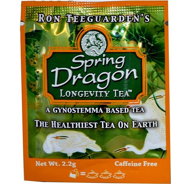Special, Травы дракона, Тонизирующий чай с молодыми травами, Без кофеина, 1 пакет чая, 2,2 г (Discontinued Item)
