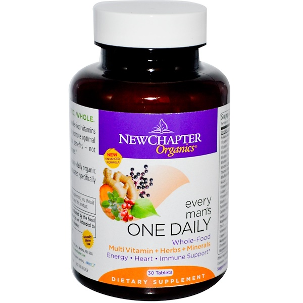 Special, New Chapter, Organics, Every Man's One Daily, 30 Tablets (Discontinued Item)