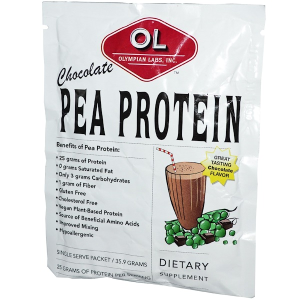 Special, Olympian Labs Inc., Pea Protein, Chocolate, 35.9 g (Discontinued Item)