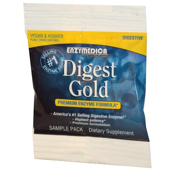 Special, Enzymedica, Digest Gold, Premium Enyzme Formula, 6 Capsules (Discontinued Item)