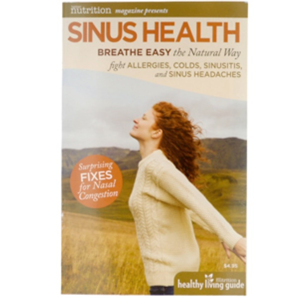 Special, Sinus Health, Breathe Easy the Natural Way, 32 Page Paperback Booklet (Discontinued Item)