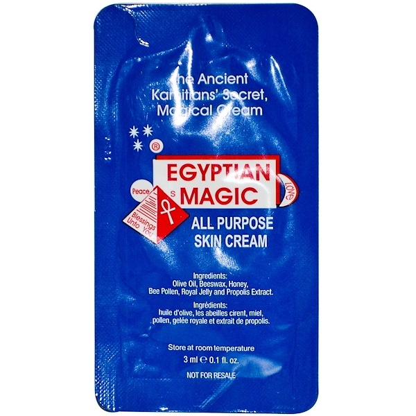 Special, Egyptian Magic, All Purpose Skin Cream, 0.1 fl oz (3 ml) (Discontinued Item)