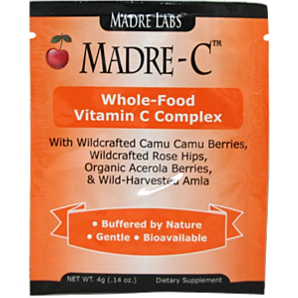 Special, Madre Labs, Madre-C, Whole-Food Vitamin C Complex, 1 Packet, 0.14 oz (4 g)  (Discontinued Item)