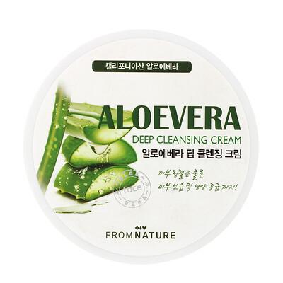 Купить FromNature Aloe Vera, Deep Cleansing Cream, 300 ml