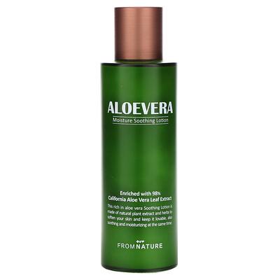 FromNature Aloe Vera, 98% Moisture Soothing Lotion, 125 ml