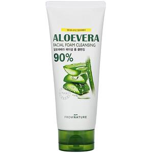 FromNature, Aloe Vera, 90%, Facial Foam Cleansing, 130 g отзывы