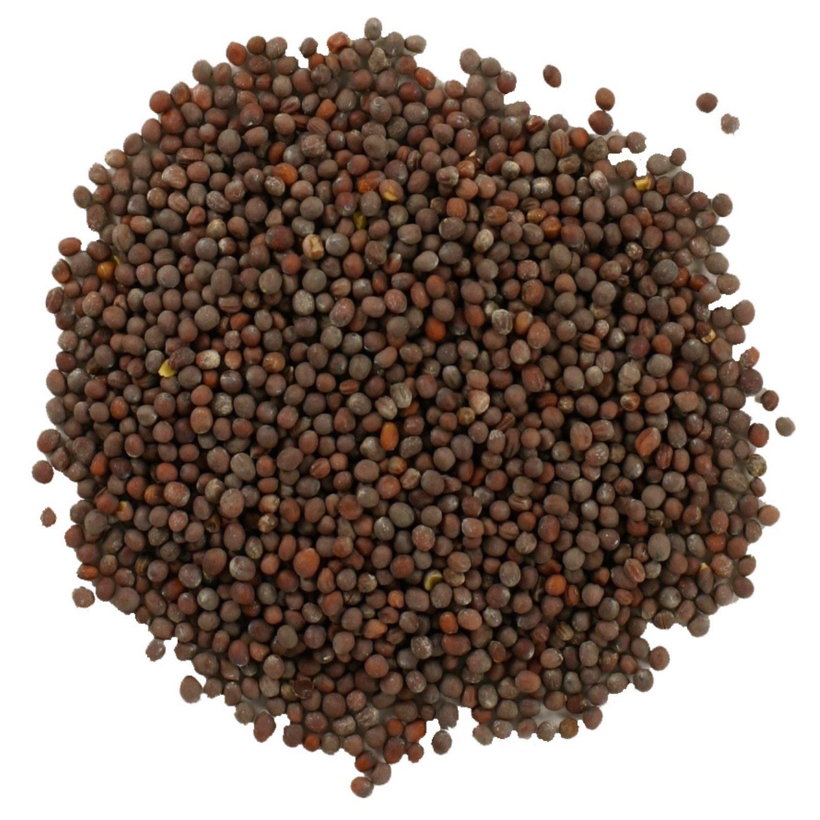 Frontier Natural Products, Цельное семя черной горчицы, 16 унций (453 г)