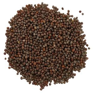 Фронтьер Нэчурал Продактс, Whole Brown Mustard Seed, 16 oz (453 g) отзывы покупателей
