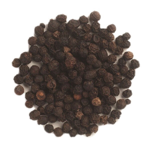 Whole Black Peppercorns Tellicherry, 16 oz (453 g)
