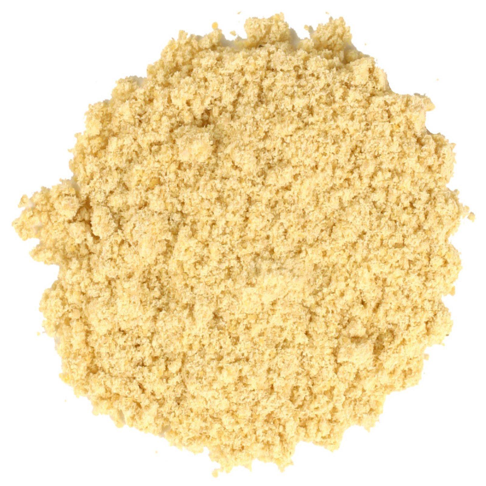 Frontier Natural Products, Органические молотые семена желтой горчицы, 16 унций (453 г)