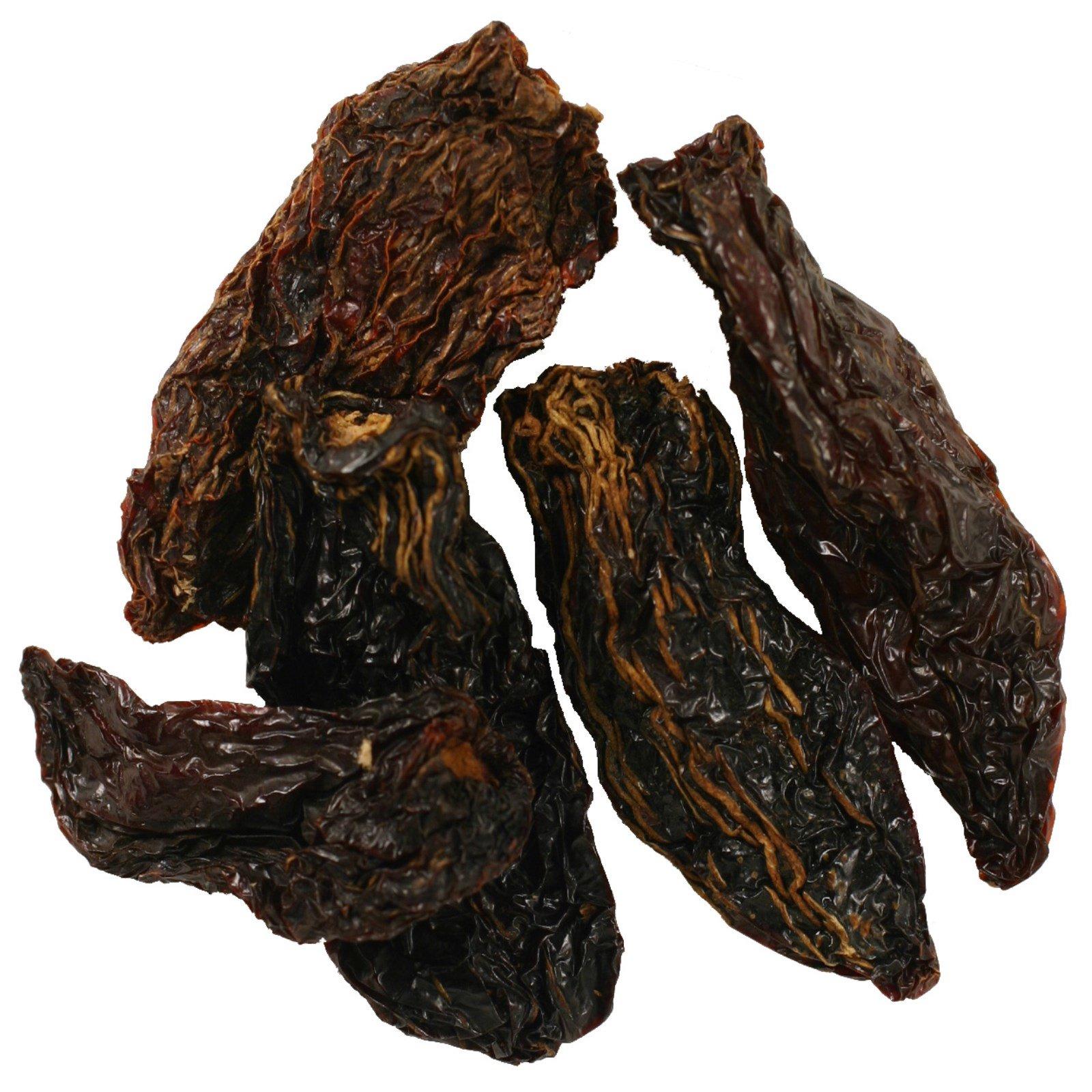 Frontier Natural Products, Цельные сушеные перцы халапеньо, 75,000 тепловых единиц, 16 унций (453 г)