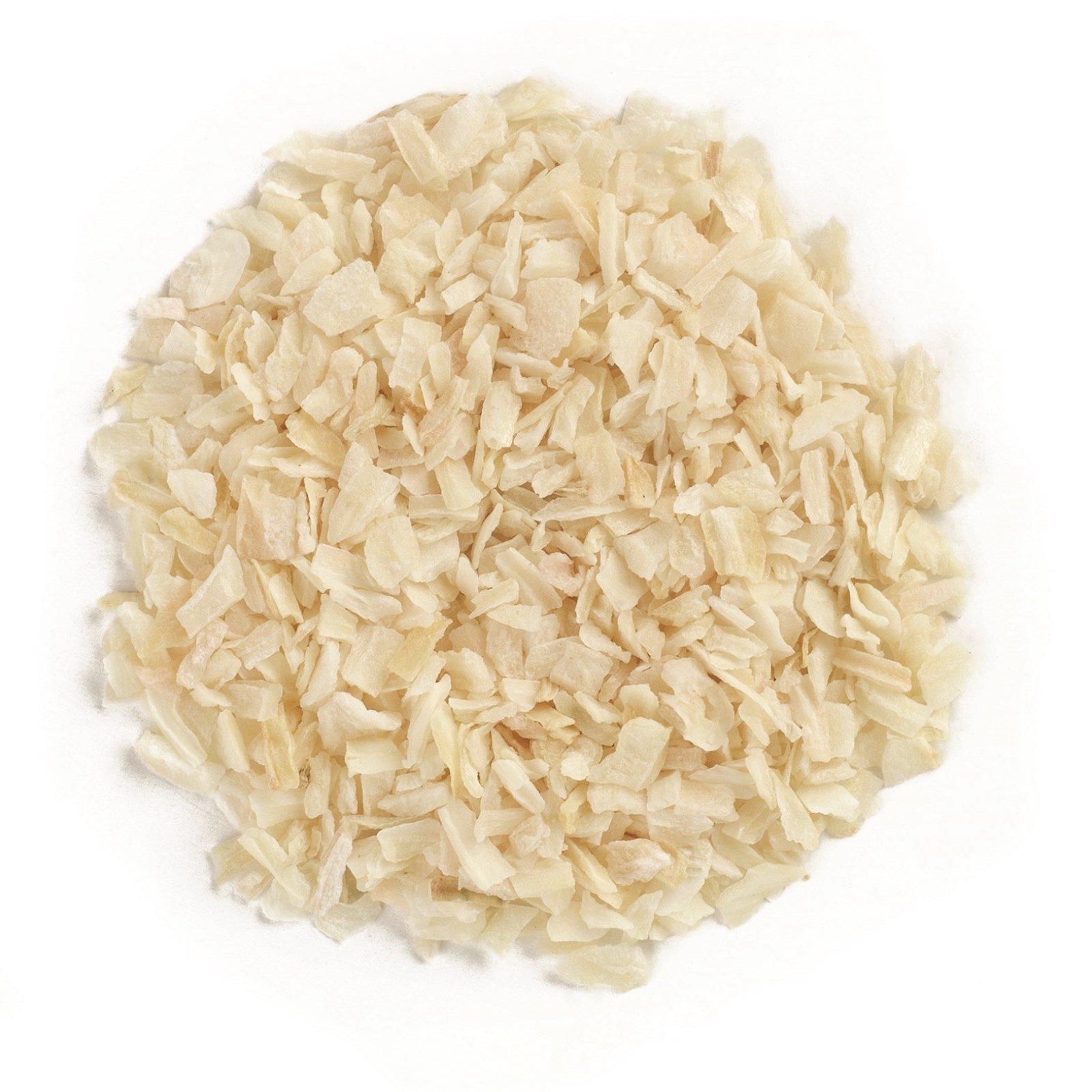 Frontier Natural Products, Органический рубленый белый лук, 16 унций (453 г)