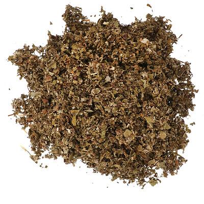 Frontier Natural Products Нарезанный и просеянный лист красной малины, 453 г (16 унций)  - купить со скидкой
