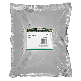 Frontier Natural Products, Capullos y Pétalos de Rosa Roja Enteros, 16 oz (453 g)