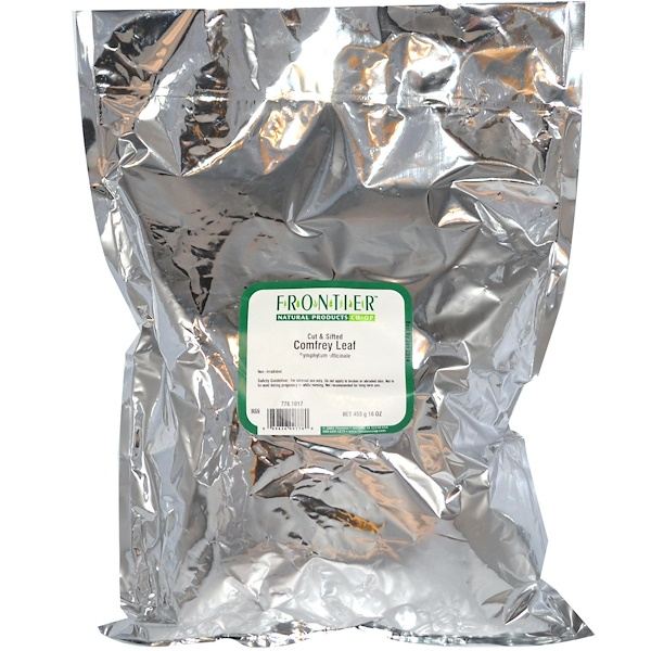 Frontier Natural Products, Cut & Sifted Comfrey Leaf, 16 oz (453 g) (Discontinued Item)