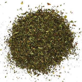 Frontier Natural Products, Hoja de Menta Verde Orgánica, Cortada y Tamizada, 16 oz (453 g)