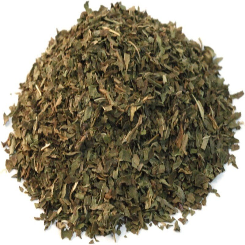 Organic Cut & Sifted Spearmint Leaf, 16 oz (453 g)
