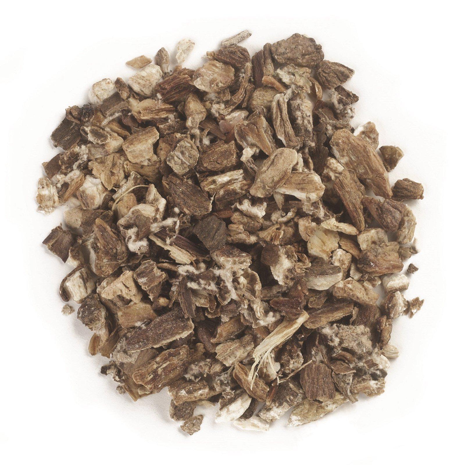 Frontier Natural Products, Органический порезанный и просеянный корень лопуха, 16 унций (453 г)