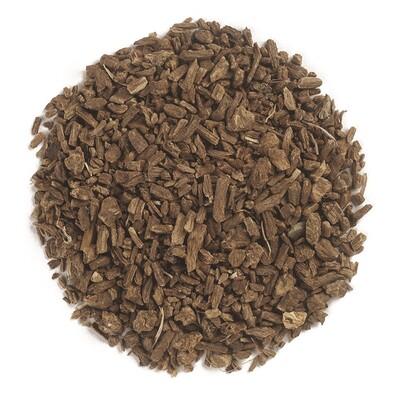 Купить Frontier Natural Products Органический нарезанный и просеянный корень валерианы, 16 унций (453 г)