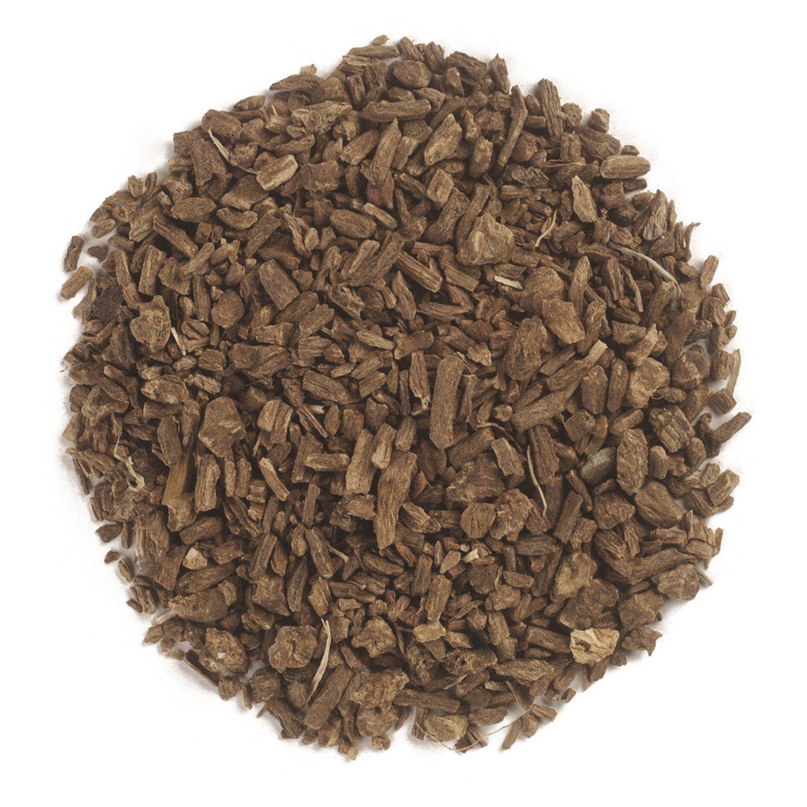 Frontier Natural Products, Органический нарезанный и просеянный корень валерианы, 16 унций (453 г)