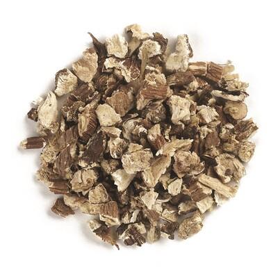 Organic Cut & Sifted Dandelion Root (Органический корень одуванчика, резанный и просеянный), 453 г (16 унций) organic cut