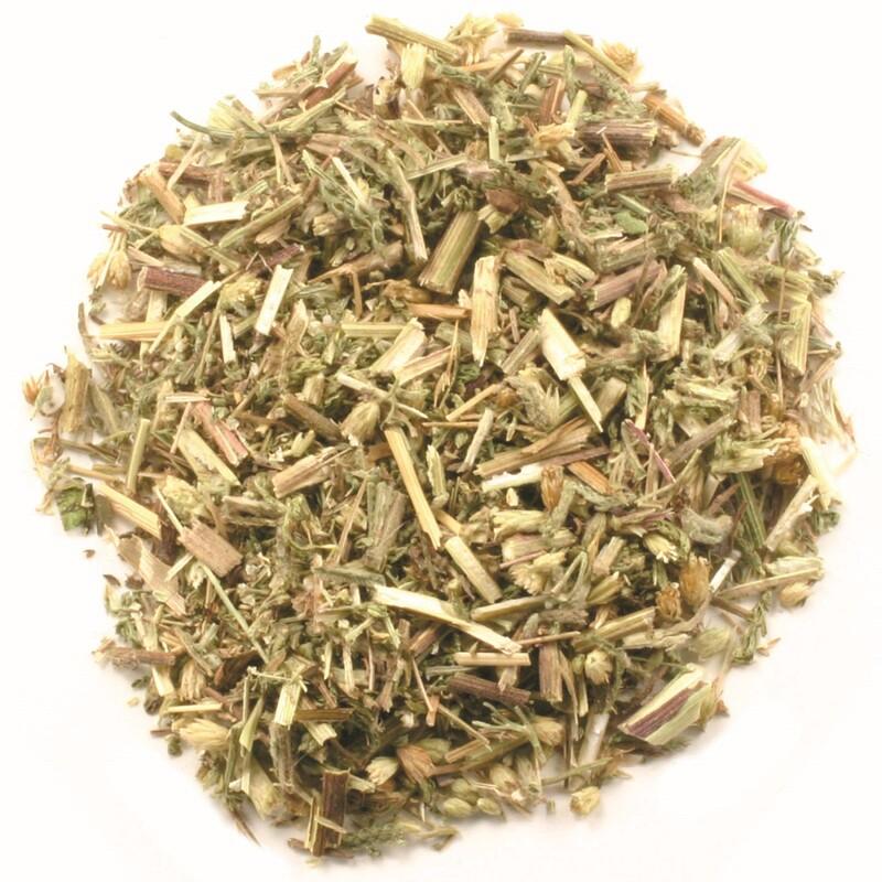 Organic Cut & Sifted Yarrow Flowers, 16 oz (453 g)