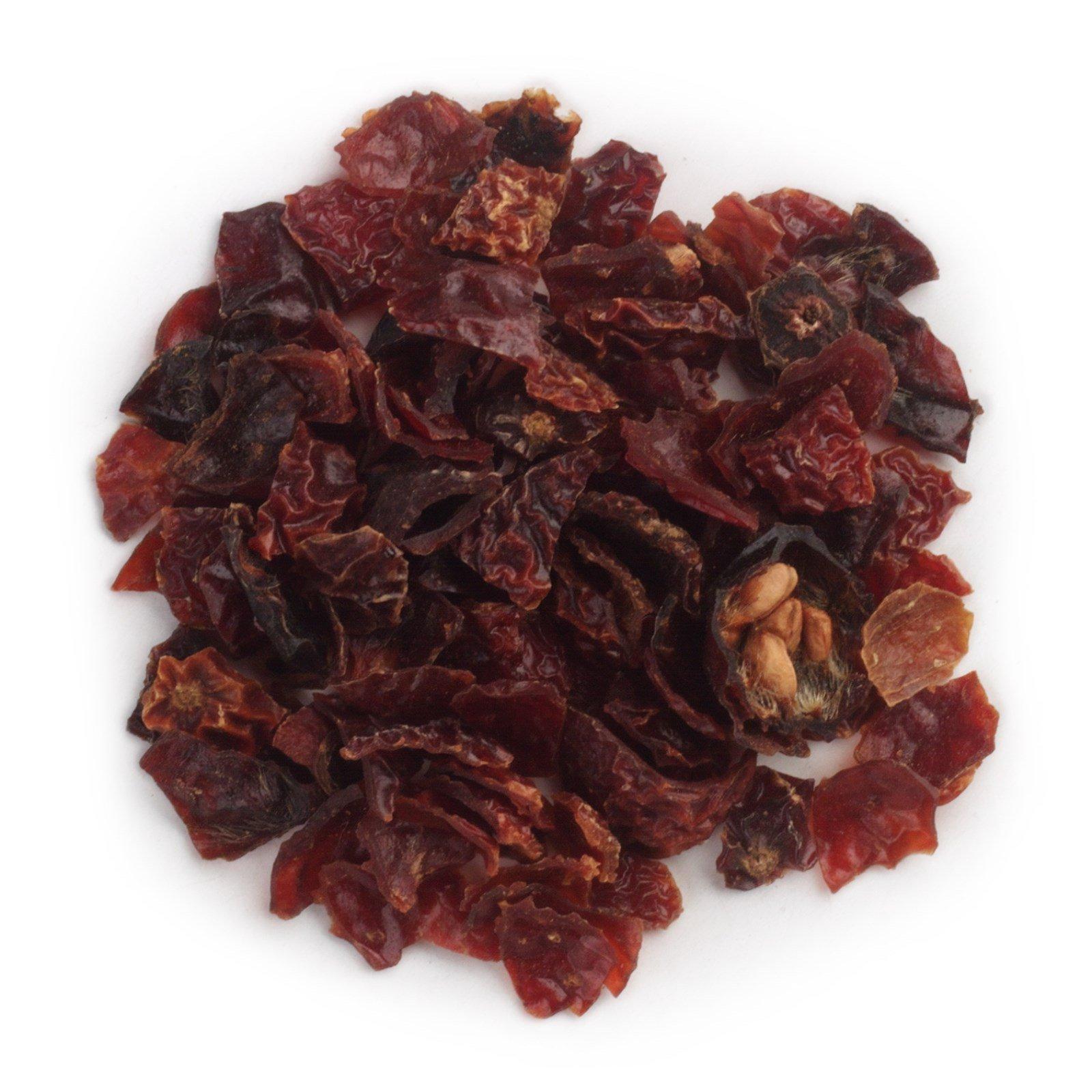 Frontier Natural Products, Органический нарезанный и просеянный шиповник без семян, 16 унций (453 г)