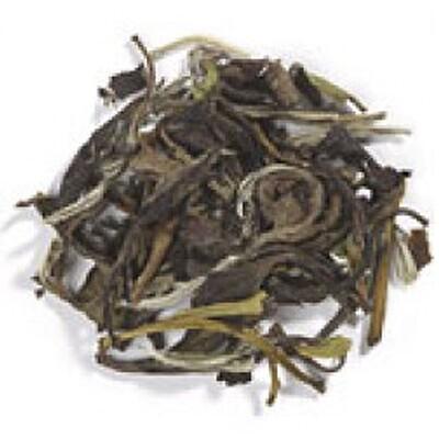 Купить Органический чай с белым пионом, 16 унций (453 г)