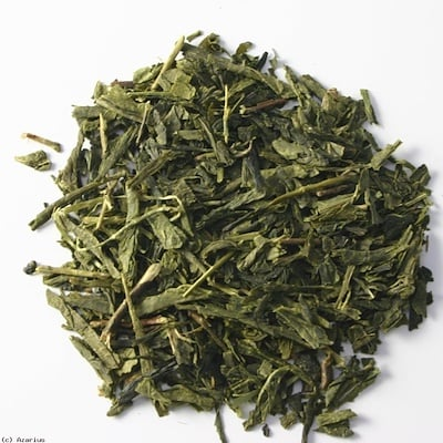 Органический листовой чай сенча, 16 унций (453 г) цена