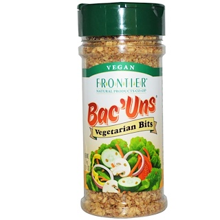 Frontier Natural Products, Bac'Uns, Vegetarian Bits, 2.47 oz (70 g)