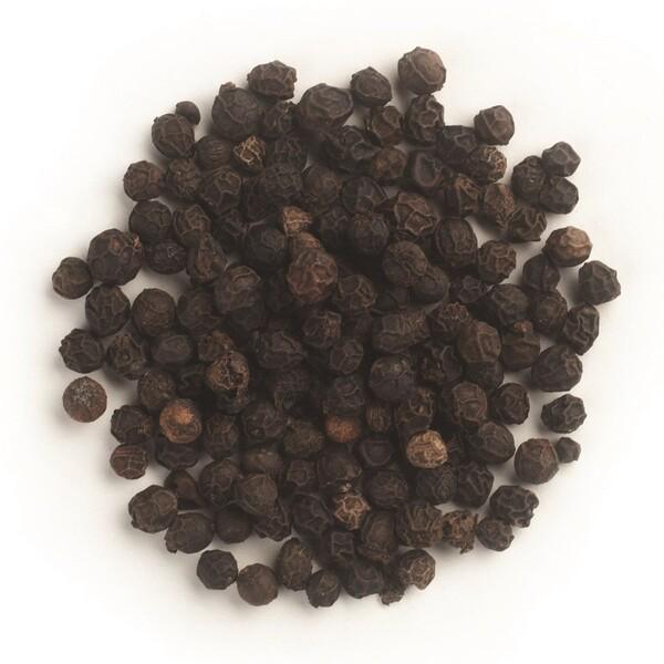 Frontier Natural Products, Органические цельные зерна черного перца, 16 унций (453 г) (Discontinued Item)