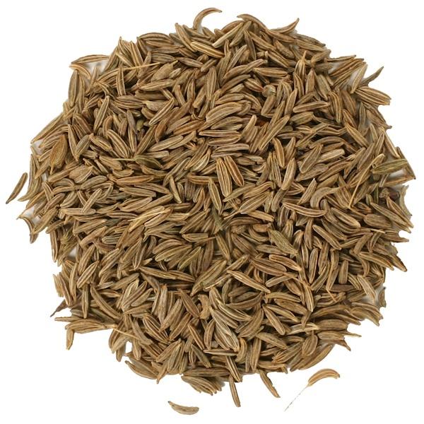 Frontier Natural Products, Органические цельные зерна тмина 16 унции (453 г) (Discontinued Item)