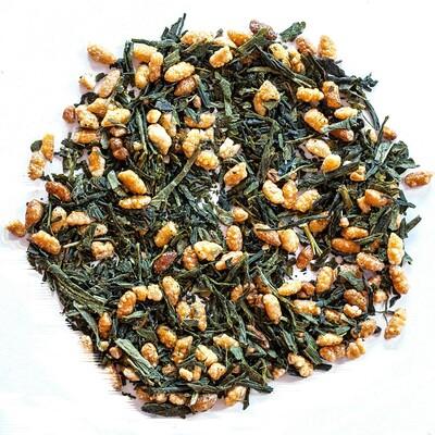 Фото - Органический чай гэммайтя, 16 унций (453 г) органический бульонный порошок с низким содержанием натрия вкус овощей 16 унций 453 г