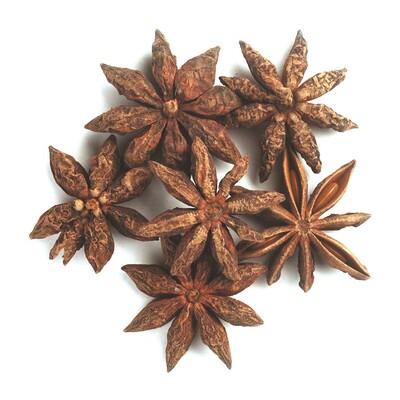 Купить Органические цельные звезды аниса, 16 унций (453 г)