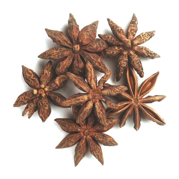 Organic Whole Star Anise Select, 16 oz (453 g)